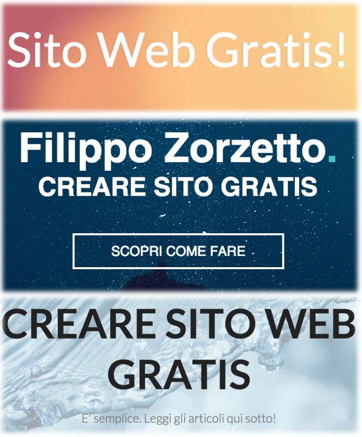 Sito web GRATIS: dominio di secondo livello GRATIS