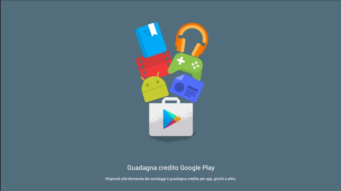 Guadagnare crediti per il Play Store