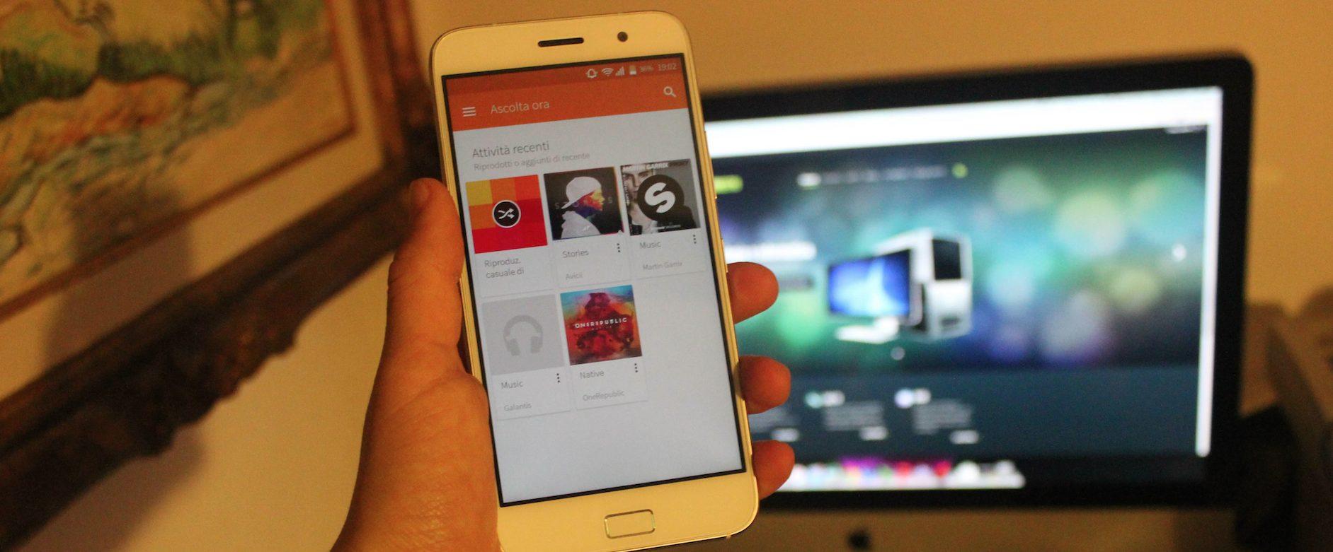 Copiare canzoni su cellulare Android