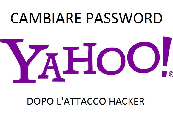Cambiare la password dell'account Yahoo
