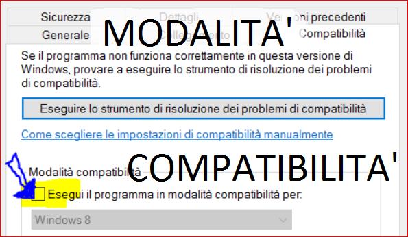 """Utilizzare software """"vecchi"""" su Windows successivi (modalità compatibilità)"""