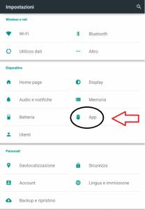 Impostazioni android - nascondere notifiche