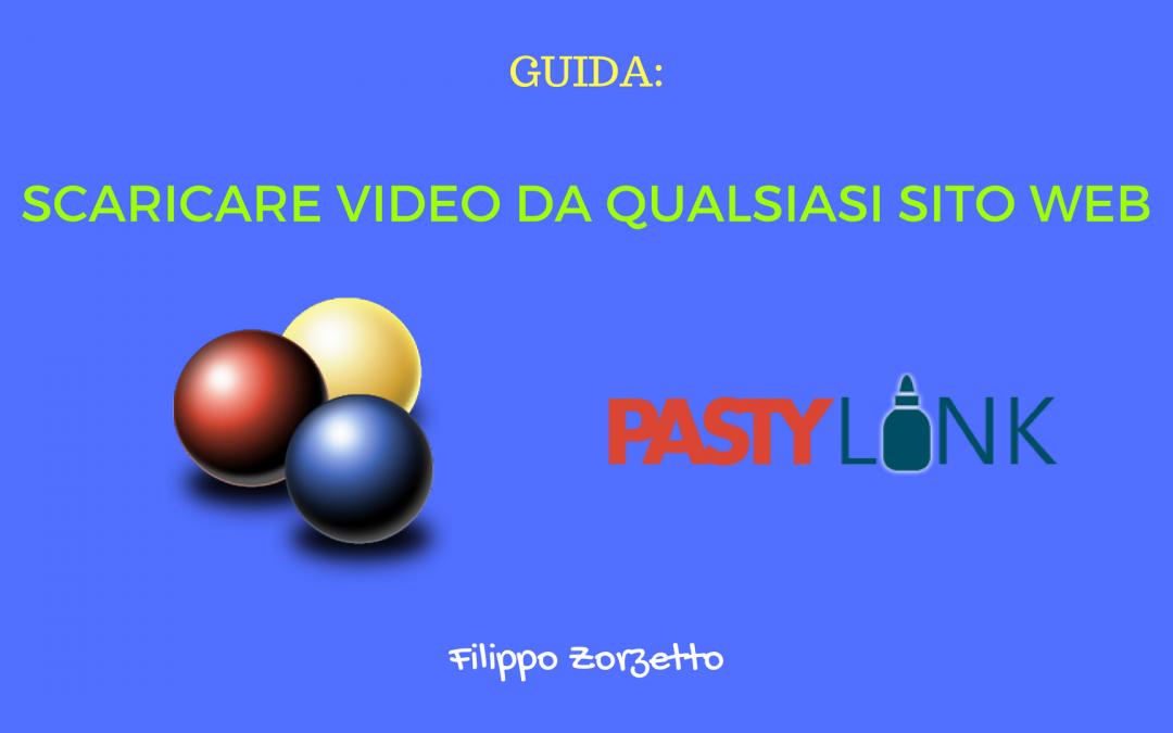 Scaricare video da qualsiasi sito web